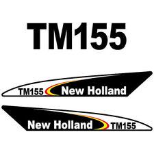 New Holland TM155 (2003) tractor decal aufkleber adesivo sticker set