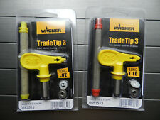 Wagner tradetip 3 Nozzle for Airless Spray Gun Tip 0553513/0553515 New 2 in LOT