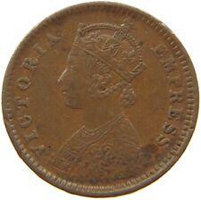 INDIA BRITISH 1/12 ANNA 1885 #t71 505