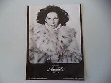 advertising Pubblicità 1976 PELLICCE PELLICCERIA ANNABELA - PAVIA
