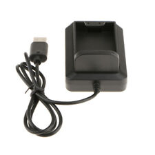Rechargeable Battery Charger Charging Dock For Microsoft Xbox 360 Black