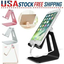 Universal For Tablet Cell Phone Aluminum Desk Table Desktop Stand Holder Cradle