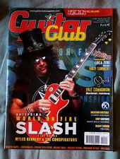 Slash on cover of GUITAR CLUB Gibson Andy Summers Opeth Mastodon Guns'n'Roses