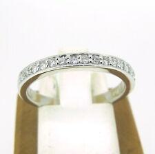 .15 ct tw Diamonds Round Brilliant Cut Half Eternity Ring Size 6.75