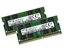 2x 16gb 32gb di RAM ddr4 2133 MHz Samsung così DIMM per HP ProDesk 400 g2 Desktop