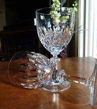 "Vintage Gorham West German Blown Crystal ""Althea"" (Cut) Pattern 7"" Water Goblet"