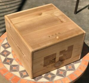 Futo Napa Valley Cabernet 6 Bottle Wood Wine Box