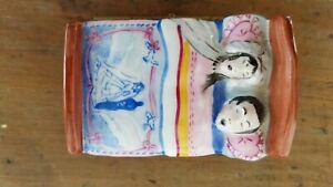 Limoges trinket box peint main