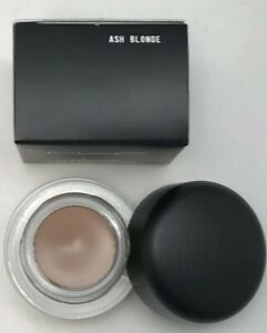 MAC Fluidline Brow Gelcreme Liner Gel -ASH BLONDE- Full Size 3g .1 oz New In Box