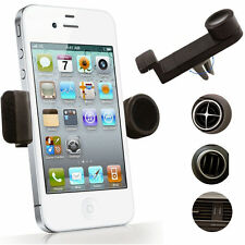 ROTATING IN CAR AIR VENT MOUNT 360° HOLDER STAND FOR VARIOUS SMARTPHONES