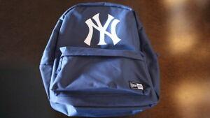 New York NY Yankees New Era NE Backpack Back Pack Navy Bookbag Bag ** Brand New