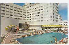 Miami Beach FL Casablanca Hotel Swimming Pool 63rd St Florida Vintage Postcard