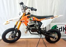 Minimoto Cross Pit bike SKC R Limited air 49cc Orange minicross