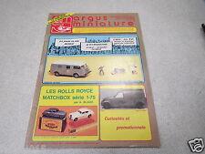 ARGUS DE LA MINIATURE N° 117 1989 les jouets en tole BANDAI moto saratov tract *