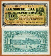 Mexico, Revolution 10 Centavos, 1914, P-S1058,  UNC