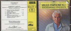 CD Sibelius - Symphonie No. 1 - Bernstein