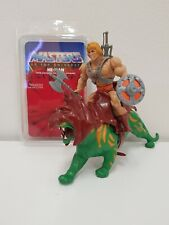 MOTU BATTLE CAT MASTERS OF THE UNIVERSE+ He Man vintage mattel action figure 80