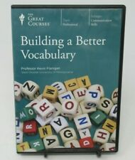 BUILDING A BETTER VOCABULARY 6-DISC DVD SET, GREAT COURSES, KEVIN FLANIGAN, GUC