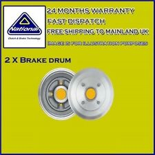 National Brake Drum NDR295 Fit with VAUXHALL COMBO TOUR Rear