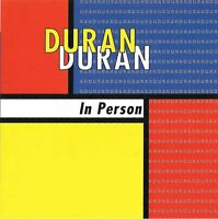 """DURAN DURAN """"In Person"""" Live Europe 1982 & 1989 Import CD 77 minutes"""