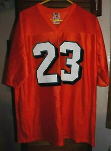 Ronnie Brown Running Back for Miami Dolphins #23 Orange Jersey (L)
