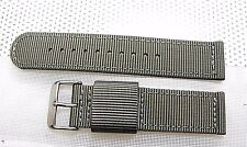 20mm  Canvas Fabric Military Watch Band Euro Stitched Fits TIMEX EXPEDITION