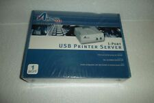 Airlink 1-Port Usb Print Server 10/100 Mbps Rj-45 Lrp Tcp/Ip Dhcp Apsusb1 New