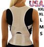 Posture Corrector Back Brace Shoulder Support Magnetic Wrap Pain Belt Men Women