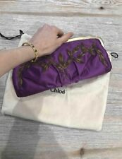 Chloe Silk Clutch Bag