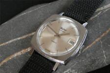 FULLY WORKING vintage DATE watch HAFNER  GLUCK Swiss 17J c1967 serviced AS 1803
