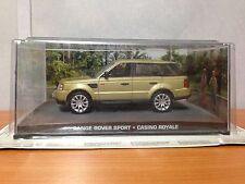 James Bond Die Cast Car - Range Rover Sport - Casino Royale- BNIB