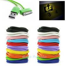 20X 6FT USB SYNC DATA POWER CHARGER CABLE IPHONE 4S IPOD TOUCH CLASSIC NANO IPAD
