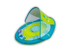 New SwimWays Baby Spring Pool Water Float Sun Canopy 5 Tethered Toy Reusable Bag