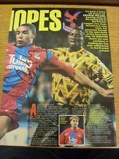 1992/1993 AMP: Crystal Palace - Armstrong, Chris. Bobfrankandelvis the ebay trad