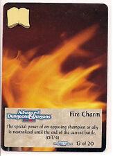 Spellfire 1995 Artifacts Ultra Rare UR Chase 13/20 Fire Charm EX