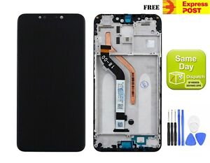 XIAOMI POCOPHONE F1 LCD DISPLAY+TOUCH SCREEN DIGITIZER W FRAME ASSEMBLY BLACK