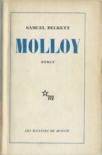 ÉDITIONS DE MINUIT 1951 RARE EO SAMUEL BECKETT : MOLLOY