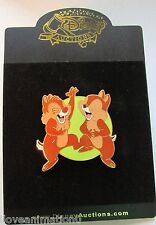 Disney Auctions Chip 'n' Dale Laughing LE 100 Pin