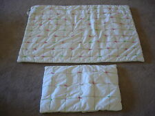 WHISTLE and WINK Tufted Crib Quilt & Pillow Sham