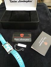 Tonino Lamborghini 1.6 CT Diamond Women Watch Stainless Steel limited edition