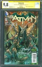 Batman 45 CGC 3X SS 9.8 Capullo Snyder Kubert 2015 Monsters Variant Cover