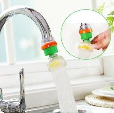 BDRotatable Tap Water Filter Activated Carbon Water Purifier Faucet Home Kitchen