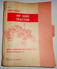 Massey Ferguson MF 1080 Tractor Parts Catalog Manual Book Original! dealers