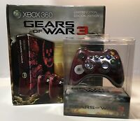 XBOX 360 GEARS OF WAR 3 LIMITED EDITION CONSOLE BUNDLE! NEW/FACTORY SEALED RARE!