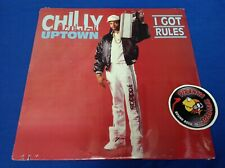 Chilly Uptown I Got Rules LP Hip Hop Vinyl 1988 Ever Rap SEALED Piranha Records