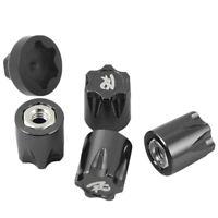 4 StüCke Aluminium RC Auto Rad Felge Mittel Kappe M4 Mutter für 1/10 RC Cle C3G8