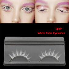 Cosplay  White Natural Long  Long Cross  Eyelashes Extension False Eyelashes
