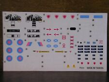 1/48 Premiere BAe HAWK T. Mk.1A Decal w/Data Stencil & Instructions 3 planes OOP