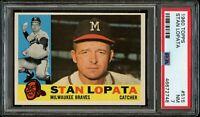 1960 Topps BB Card #515 Stan Lopata Milwaukee Braves PSA NM 7 !!!