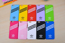 New Fashion Adidas Logo Plastic Hard Matte Phone Half Case Back Cover For iPhone